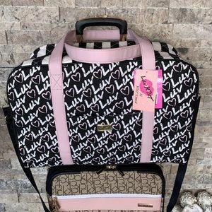 Betsey Johnson Weekender Travel Bag